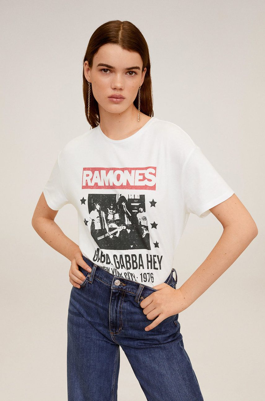 Mango - Tricou Ramones