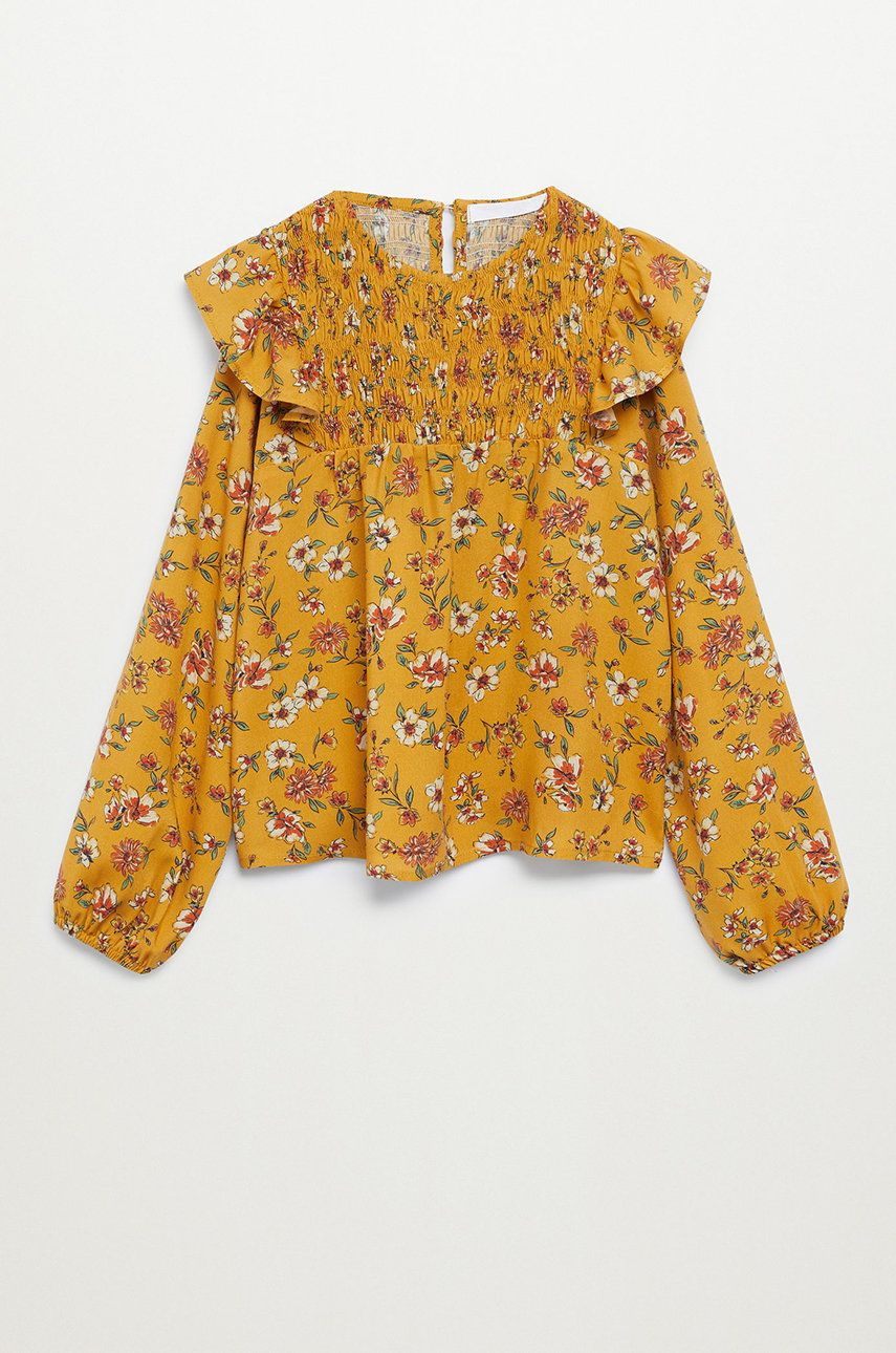 Mango Kids - Bluza copii SUNNY imagine