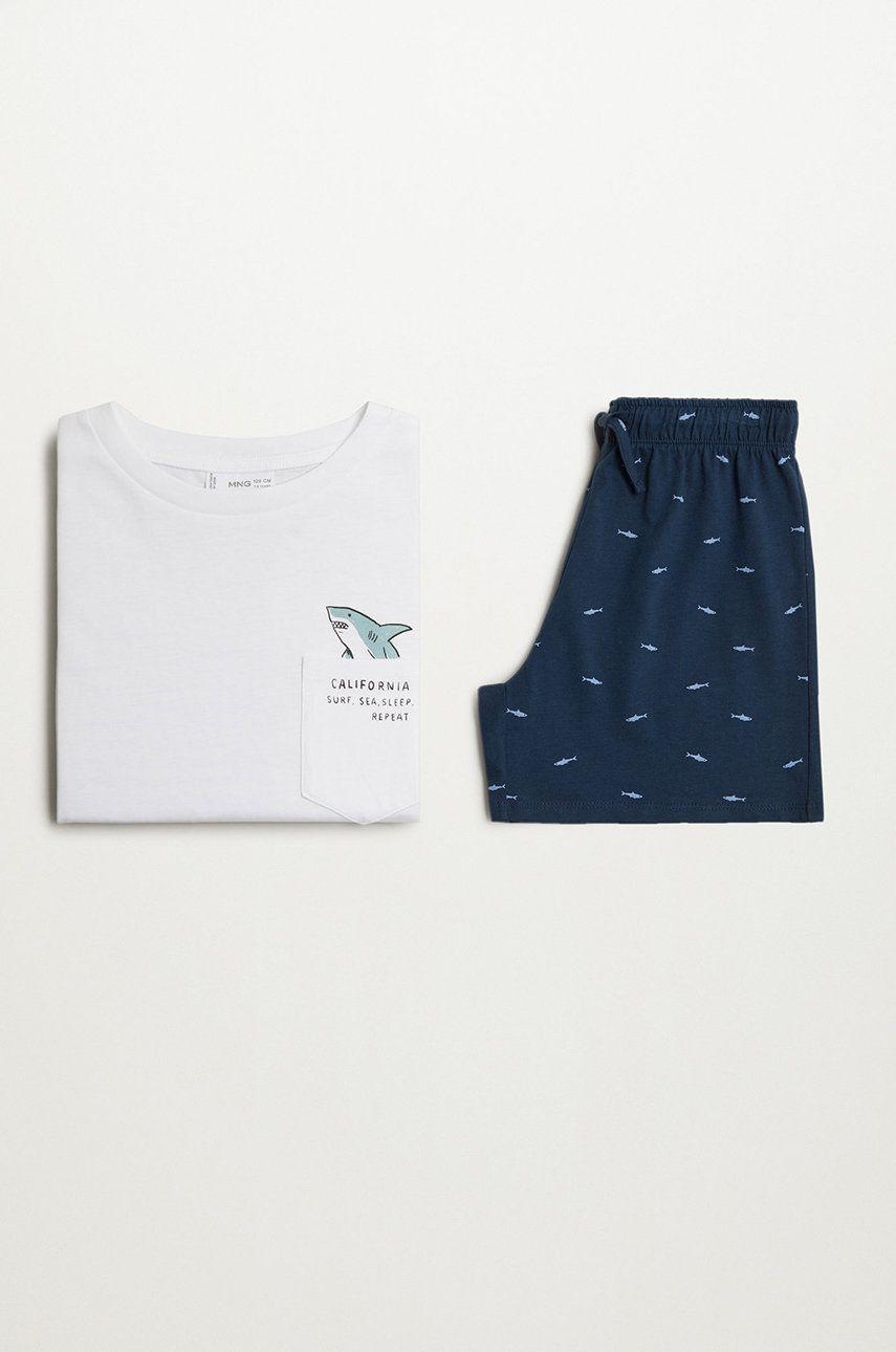 Mango Kids - Pijama copii RONY imagine answear.ro 2021