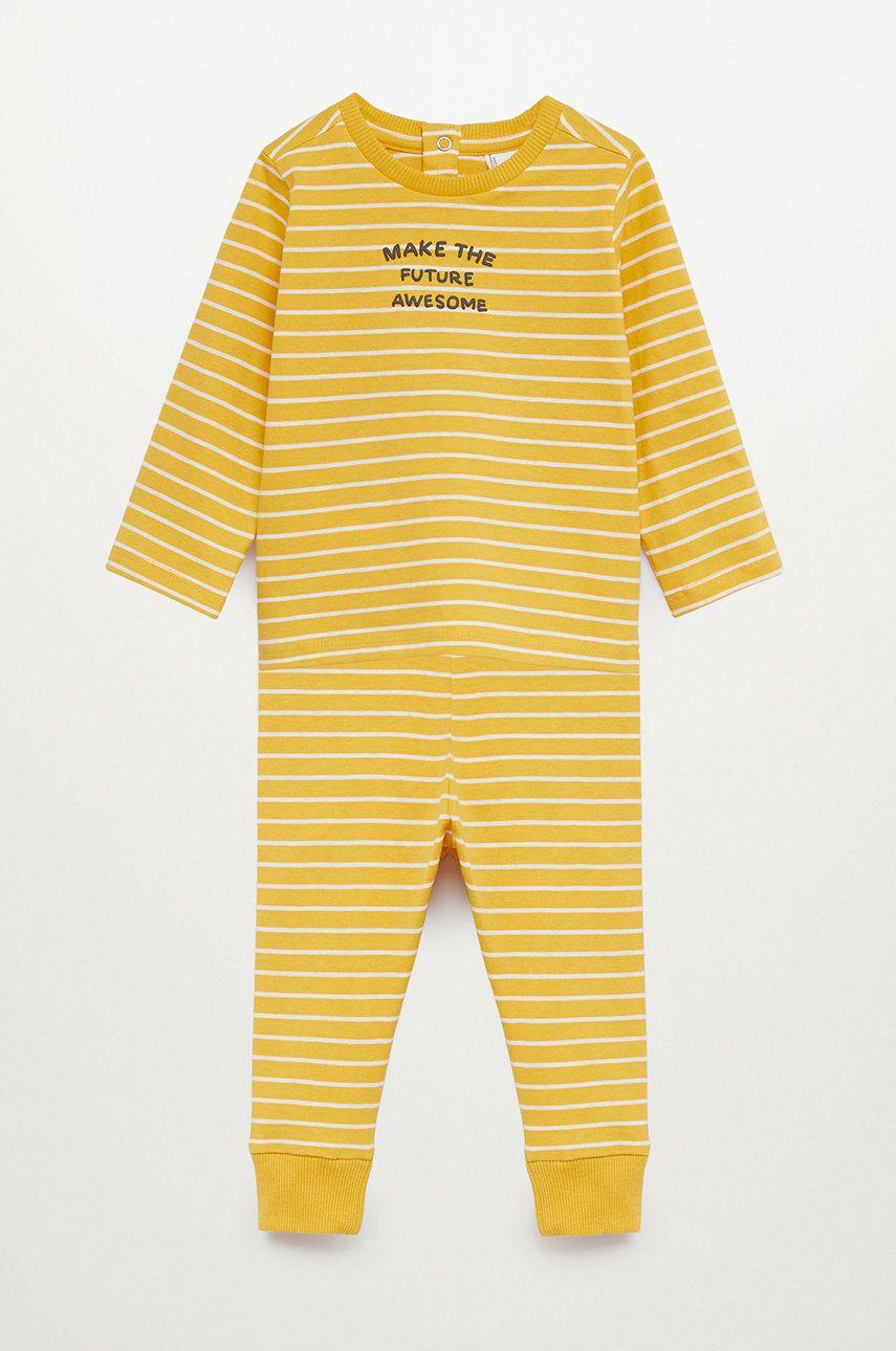 Mango Kids - Pijama copii FRAN imagine answear.ro 2021