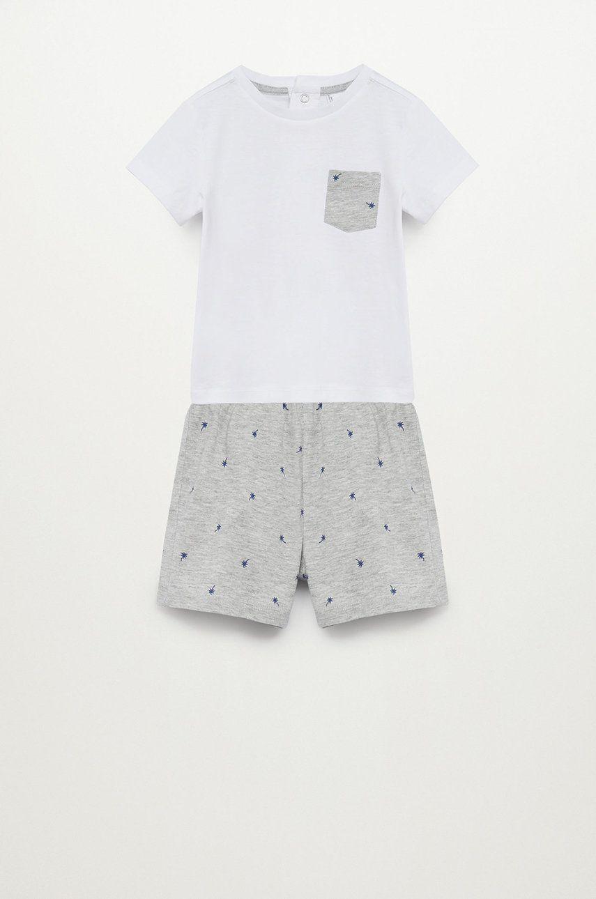 Mango Kids - Pijama copii RENEB imagine answear.ro 2021