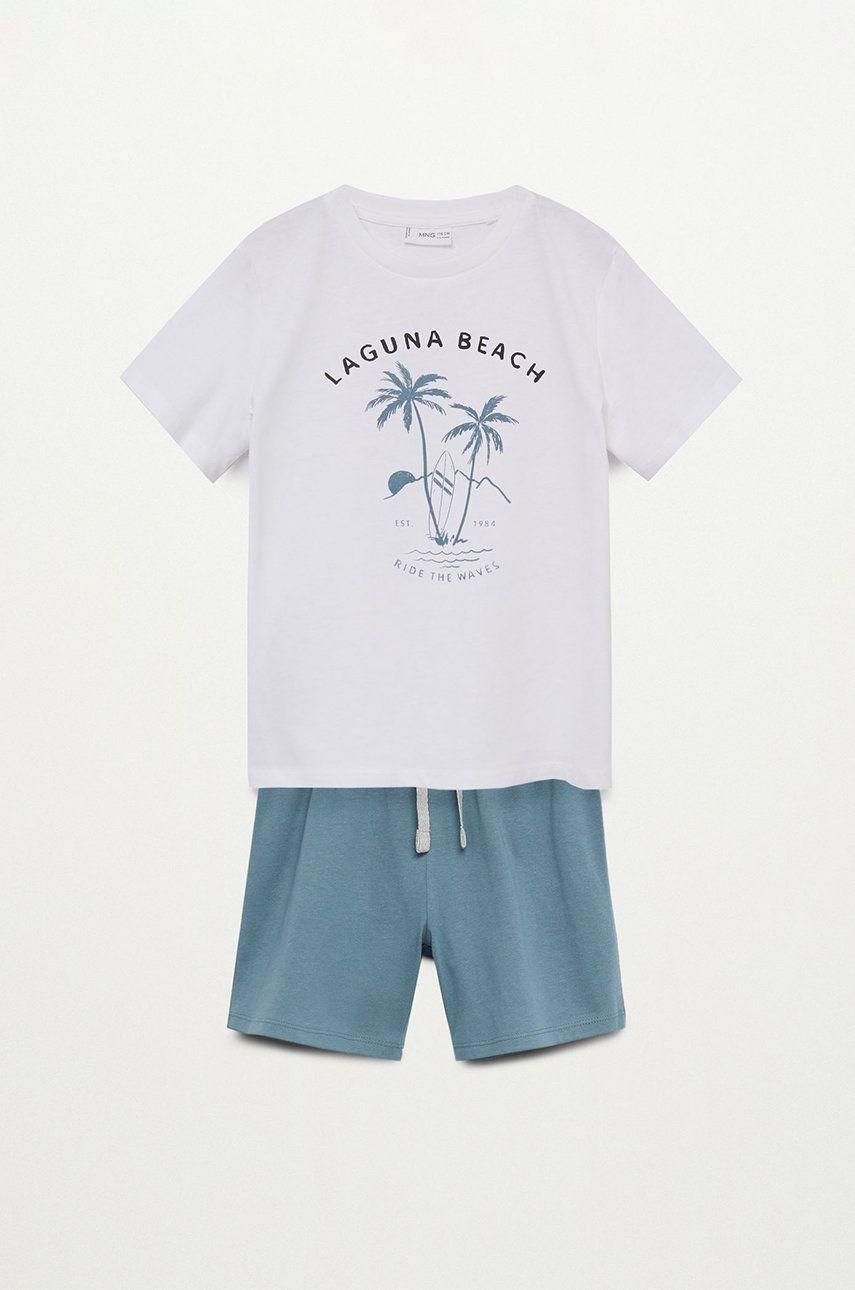 Mango Kids - Pijama copii LAGUNA imagine answear.ro 2021
