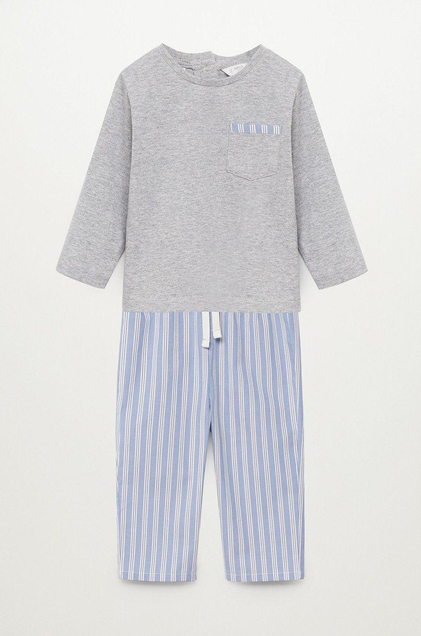 Mango Kids - Pijama copii Brauliob 80-110 cm imagine answear.ro 2021