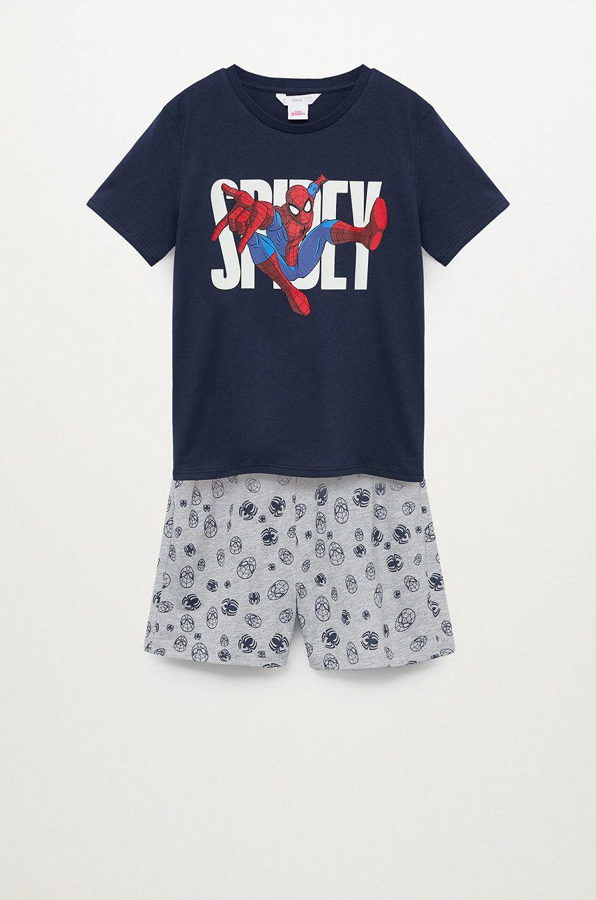Mango Kids - Pijama copii Spidey 116-164 cm