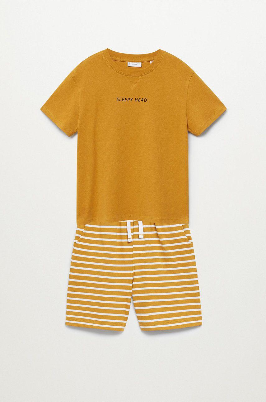 Mango Kids - Pijama copii Sleepy-I 116-164 cm