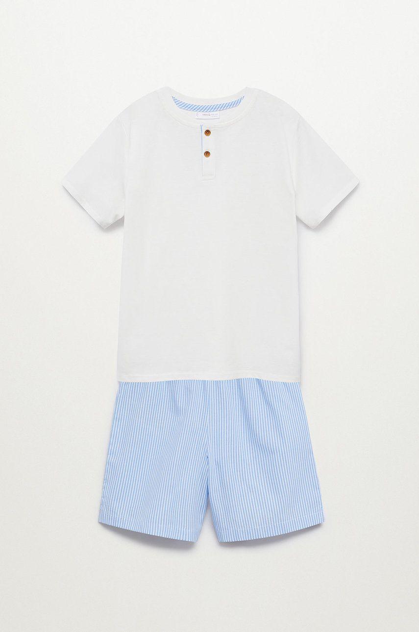 Mango Kids - Pijama copii Lau 116-164 cm