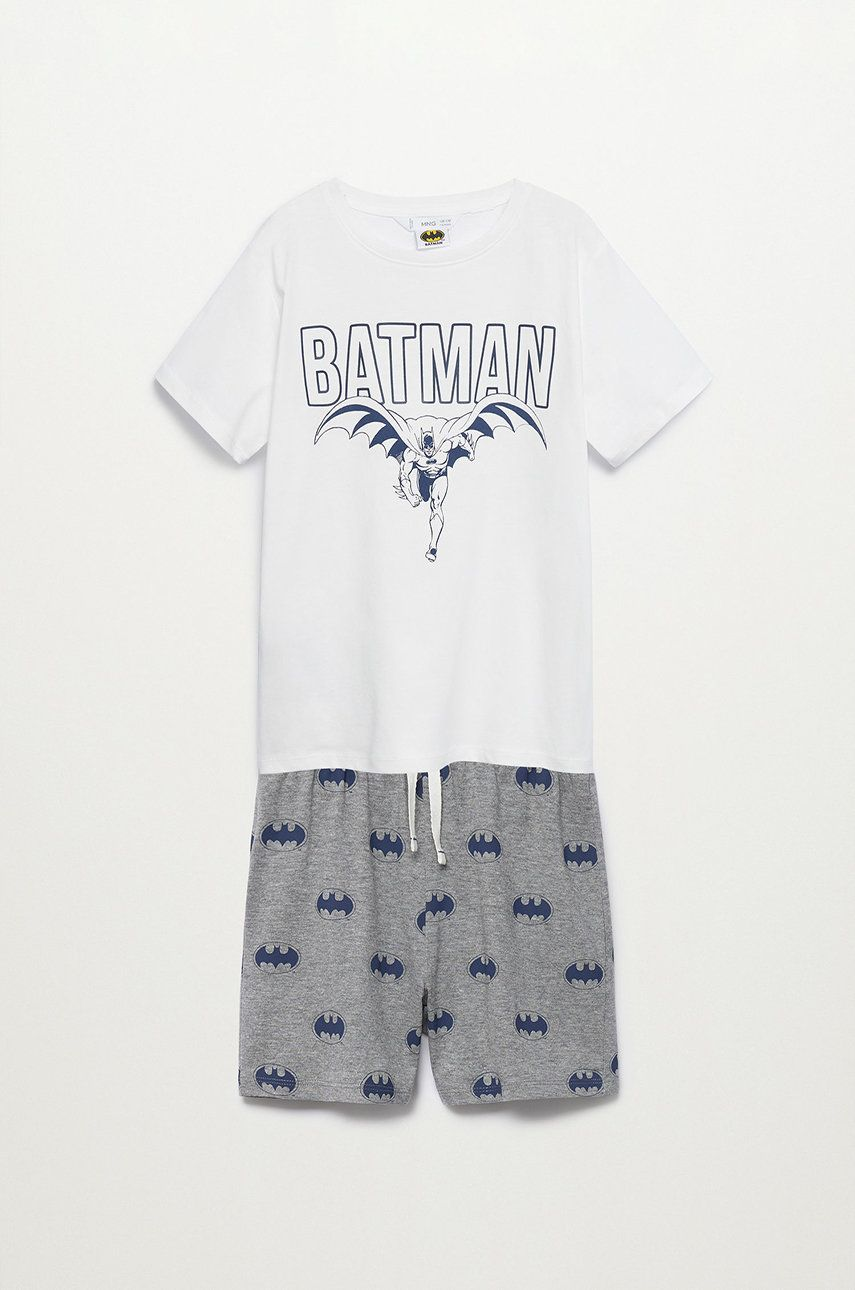 Mango Kids - Pijama copii Batman 116-152 cm