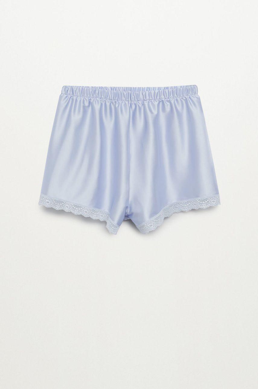 Mango - Pantaloni scurti de pijama TINA imagine answear.ro 2021