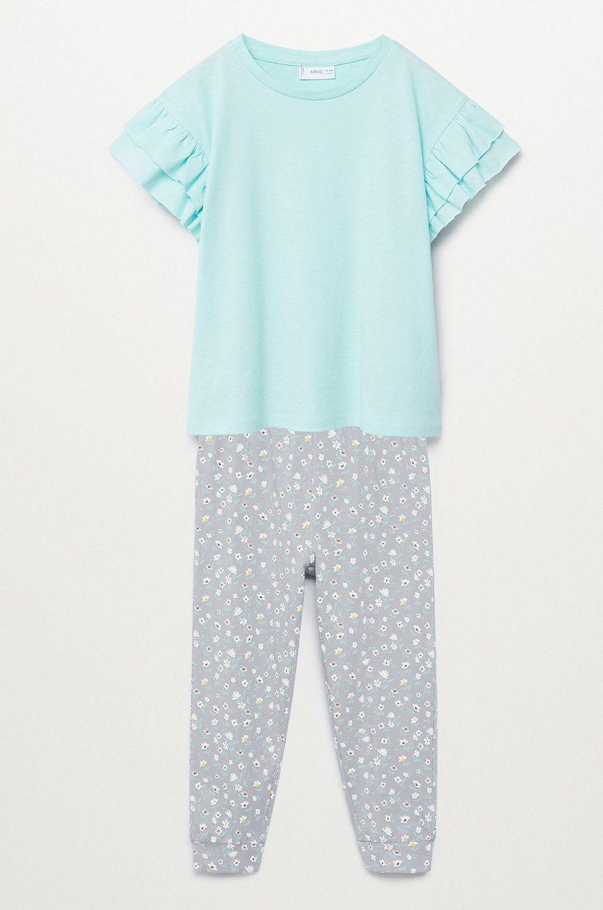 Mango Kids - Pijama copii Carla 116-164 cm