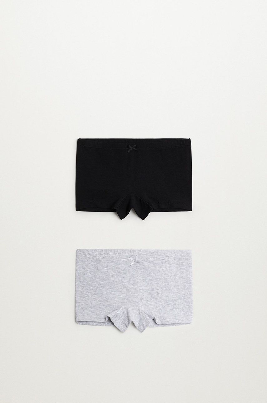 Mango Kids - Pantaloni scurti copii MONA (2-PACK)