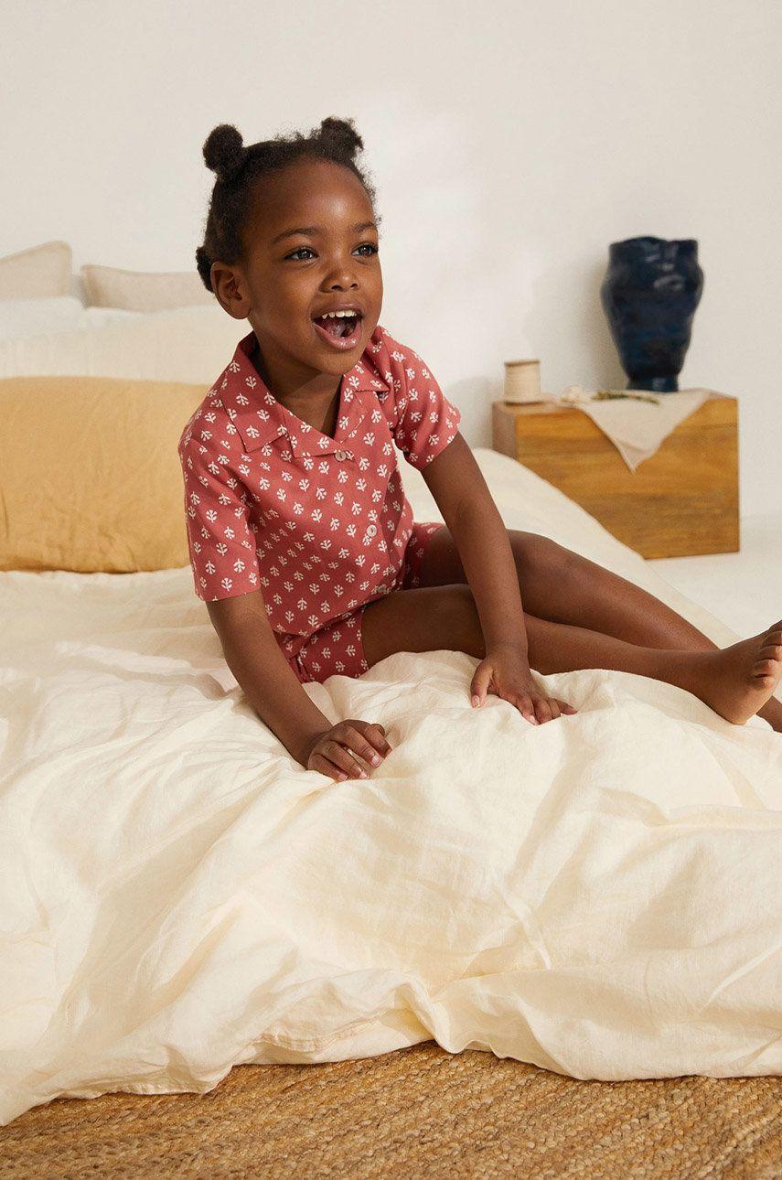Mango Kids - Pijama copii COZY