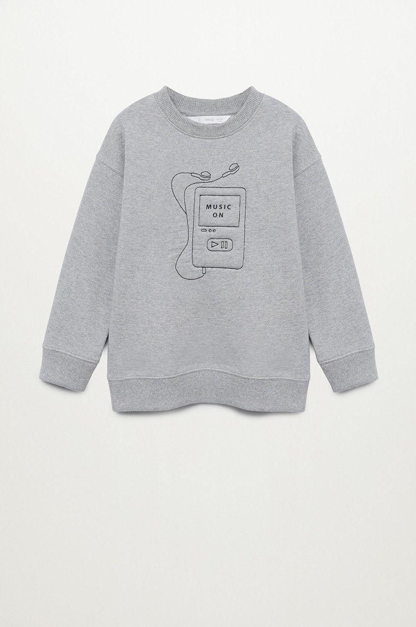 Mango Kids - Bluza copii SOFT imagine
