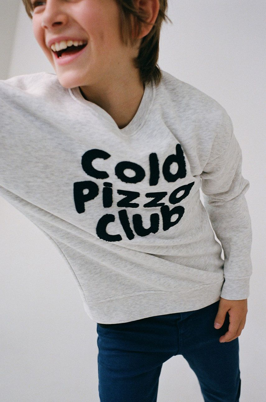 Mango Kids - Bluza copii PIZZA imagine