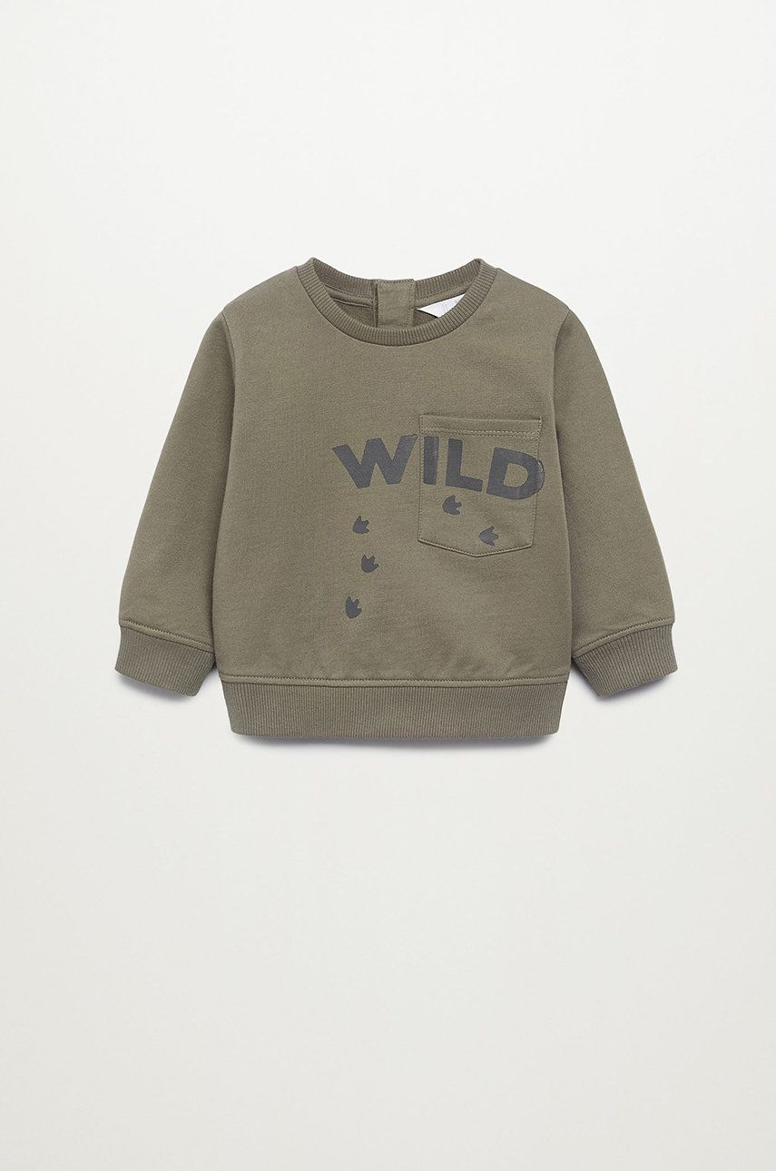 Mango Kids - Bluza copii WILD imagine answear.ro 2021