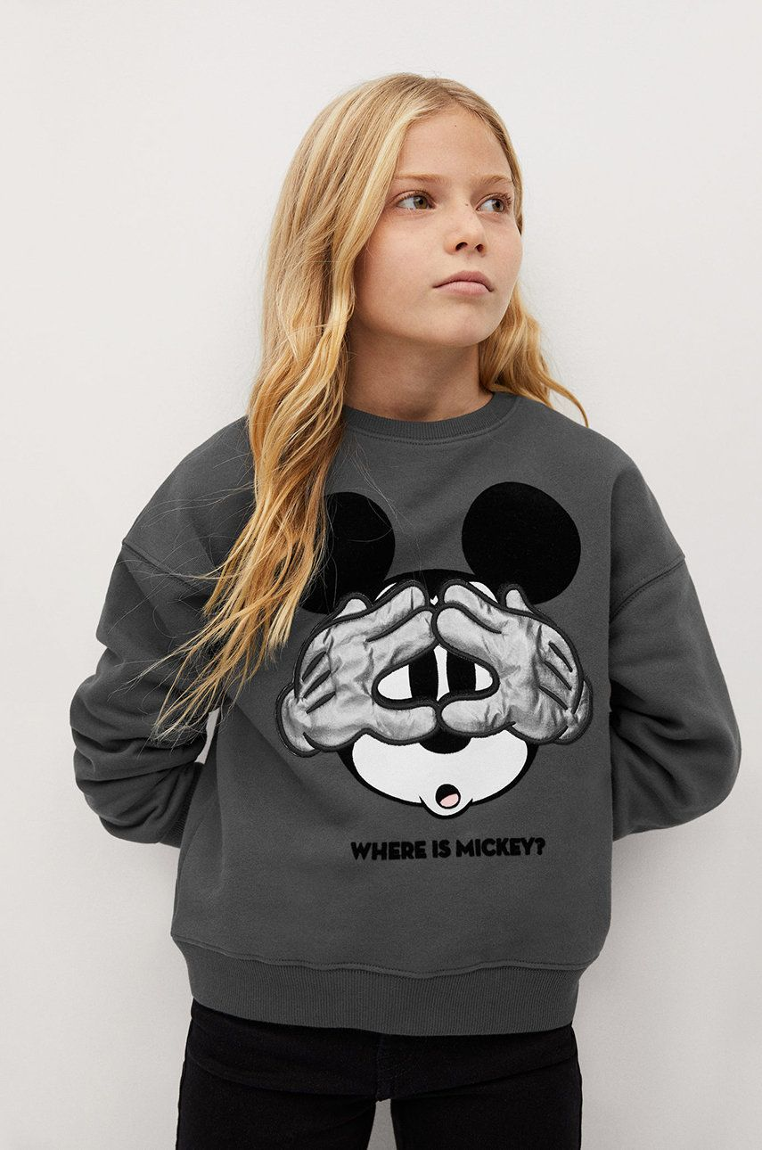 Mango Kids - Bluza copii MICKEY imagine