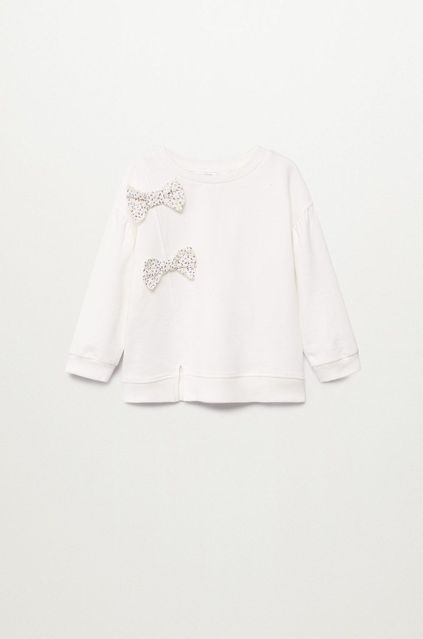 Mango Kids - Bluza copii ALBA imagine