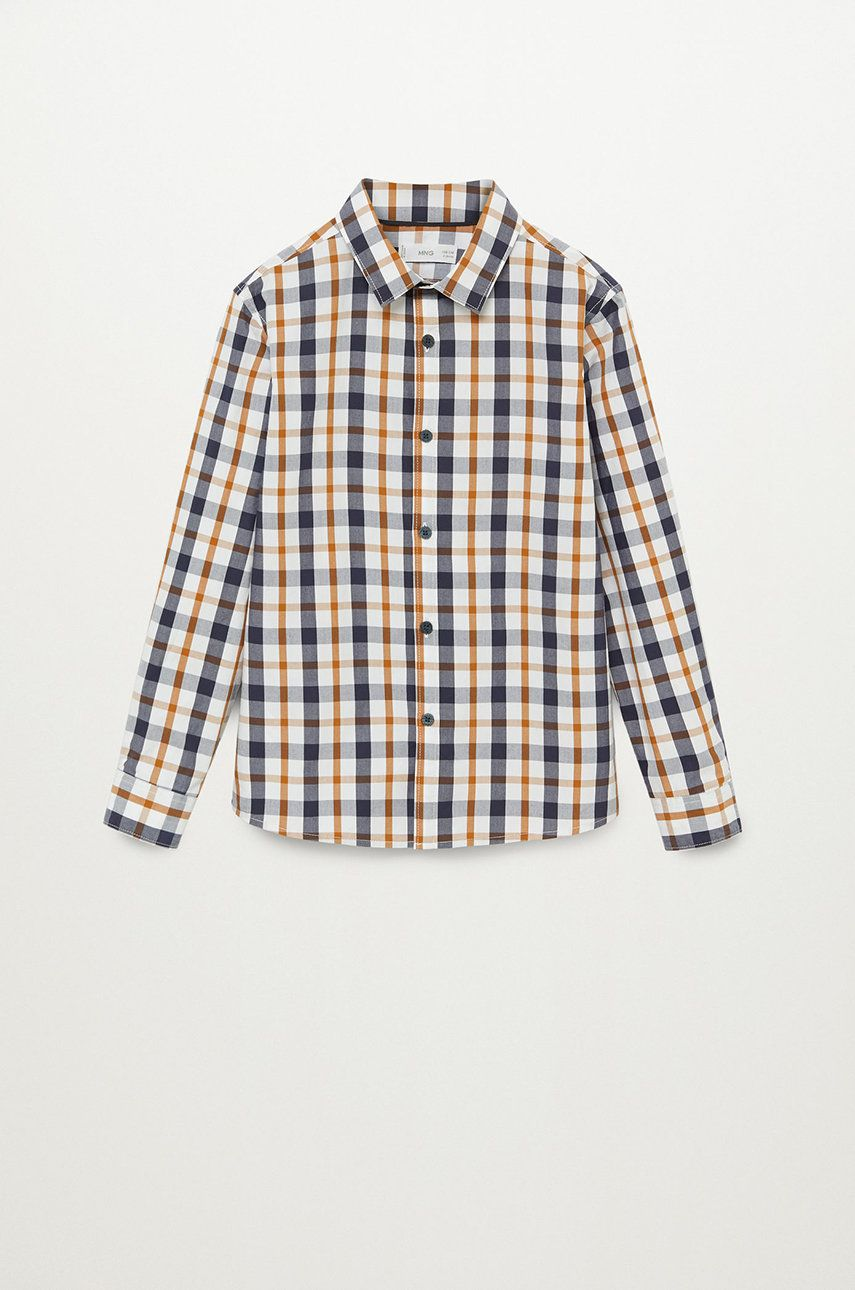 Mango Kids - Camasa copii CHECKS8 imagine