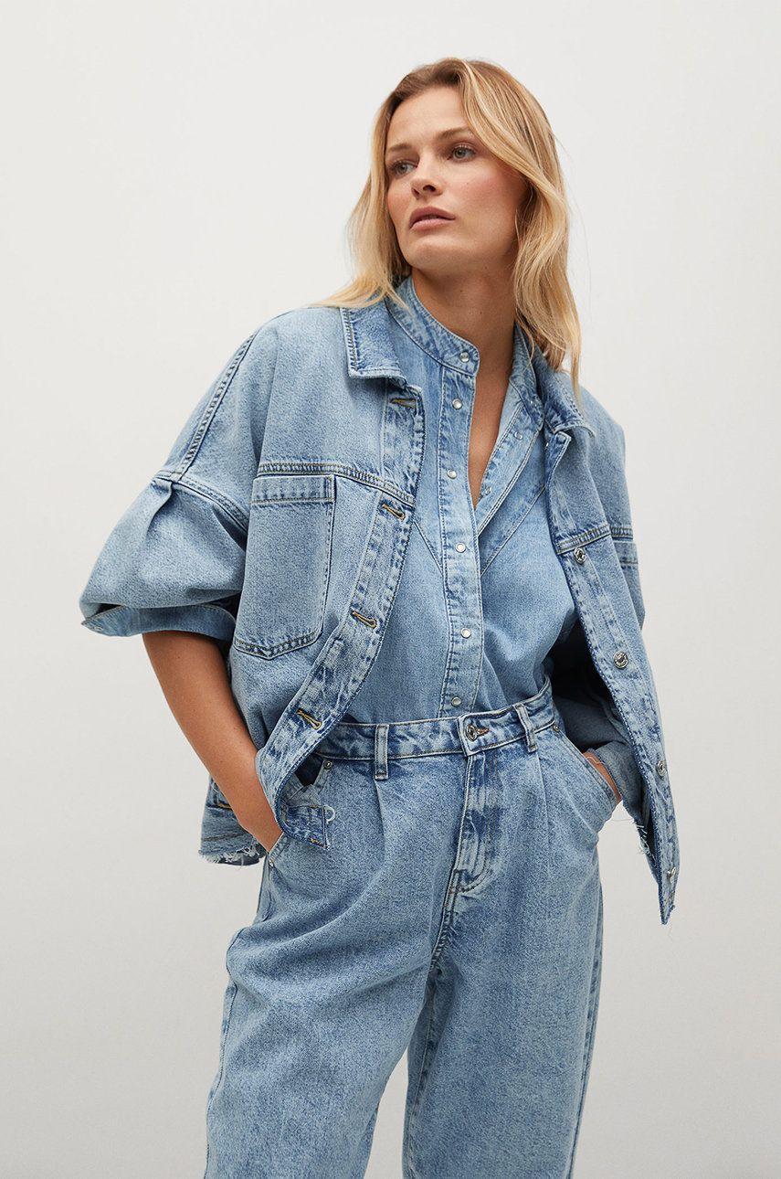 Mango - Geaca jeans SELINA