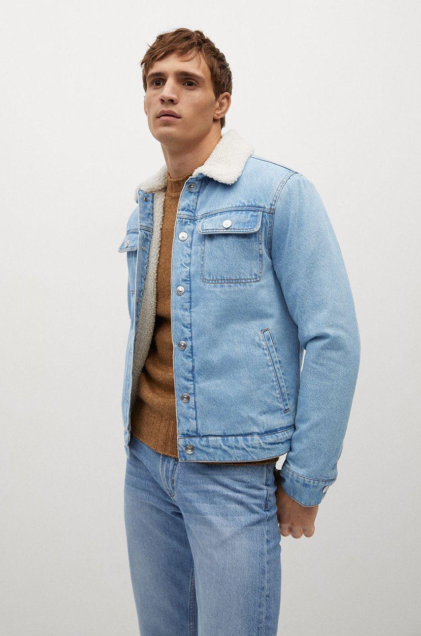 Mango Man - Geaca jeans WASP imagine