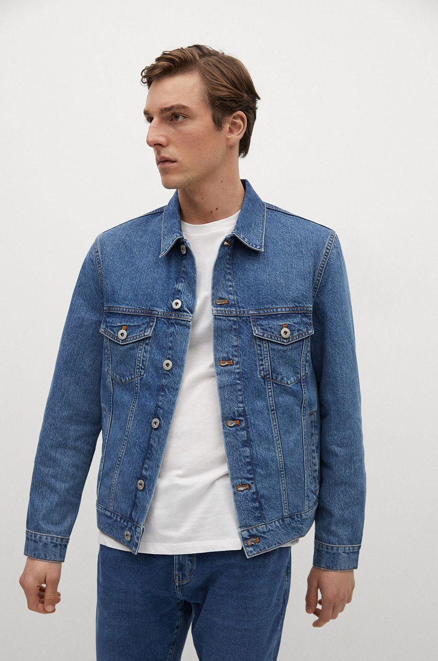 Mango Man - Geaca jeans RYAN imagine