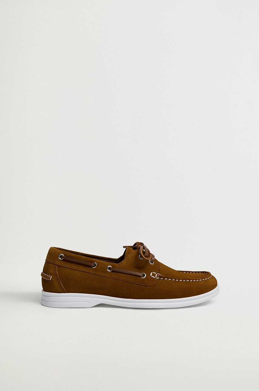 Mango Man - Pantofi de piele intoarsa SAIL imagine