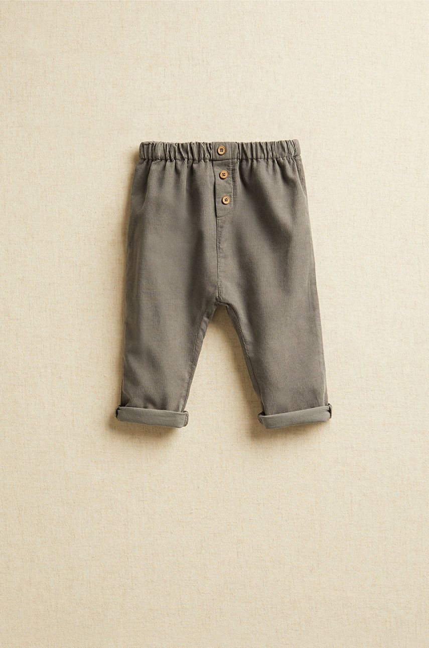 Mango Kids - Pantaloni bebe ALFRED imagine