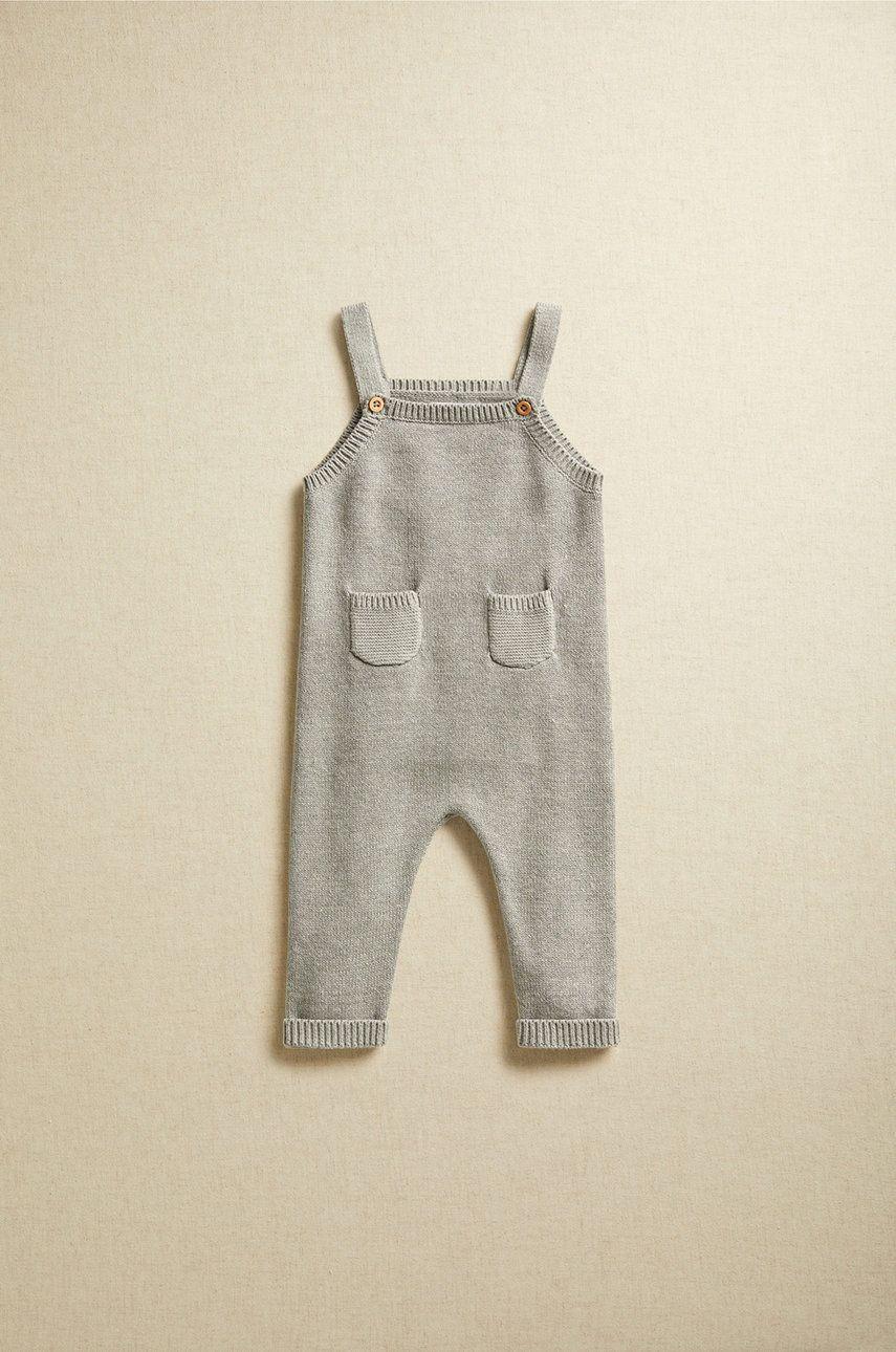 Mango Kids - Pantaloni bebe LIAM imagine answear.ro 2021