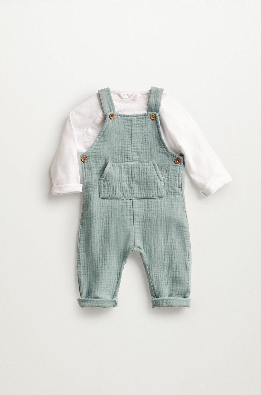 Mango Kids - Pantaloni bebe MIKE imagine answear.ro 2021