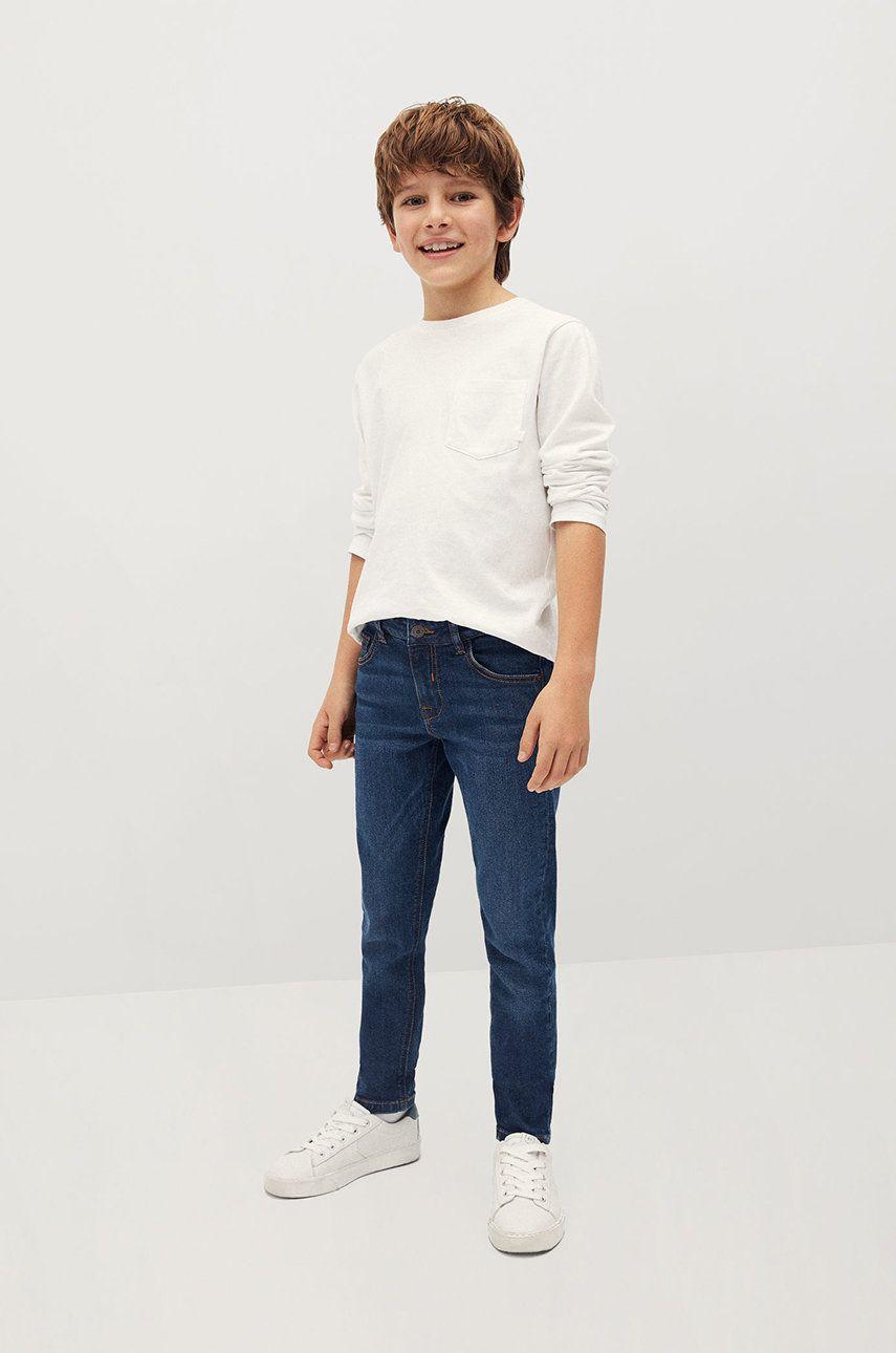 Mango Kids - Jeans copii SLIM de la Mango Kids