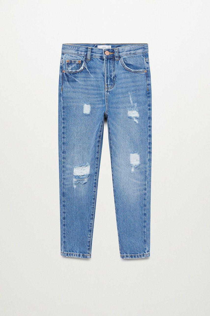 Mango Kids - Jeans copii MOM imagine answear.ro 2021