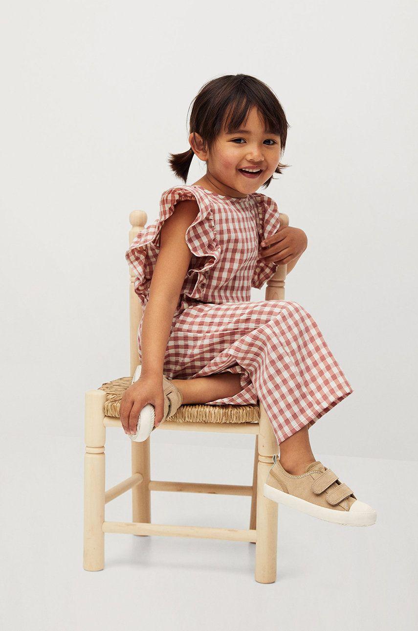 Mango Kids - Salopeta copii Laia 80-110 cm imagine answear.ro
