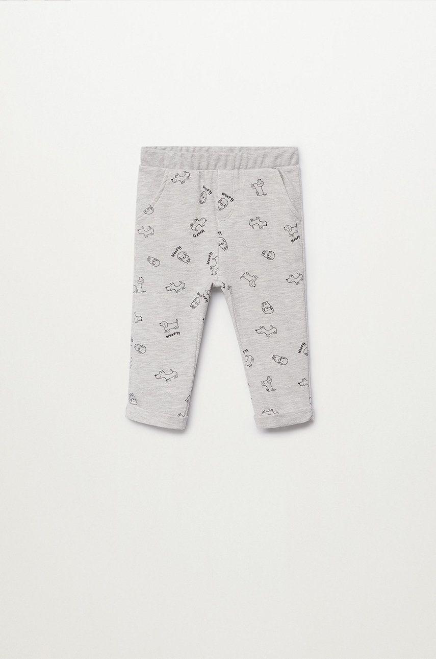 Mango Kids - Pantaloni copii Helmut 80-104 cm answear.ro