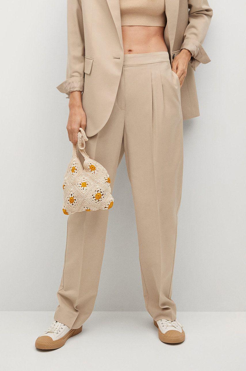 Mango - Pantaloni ZAHARA