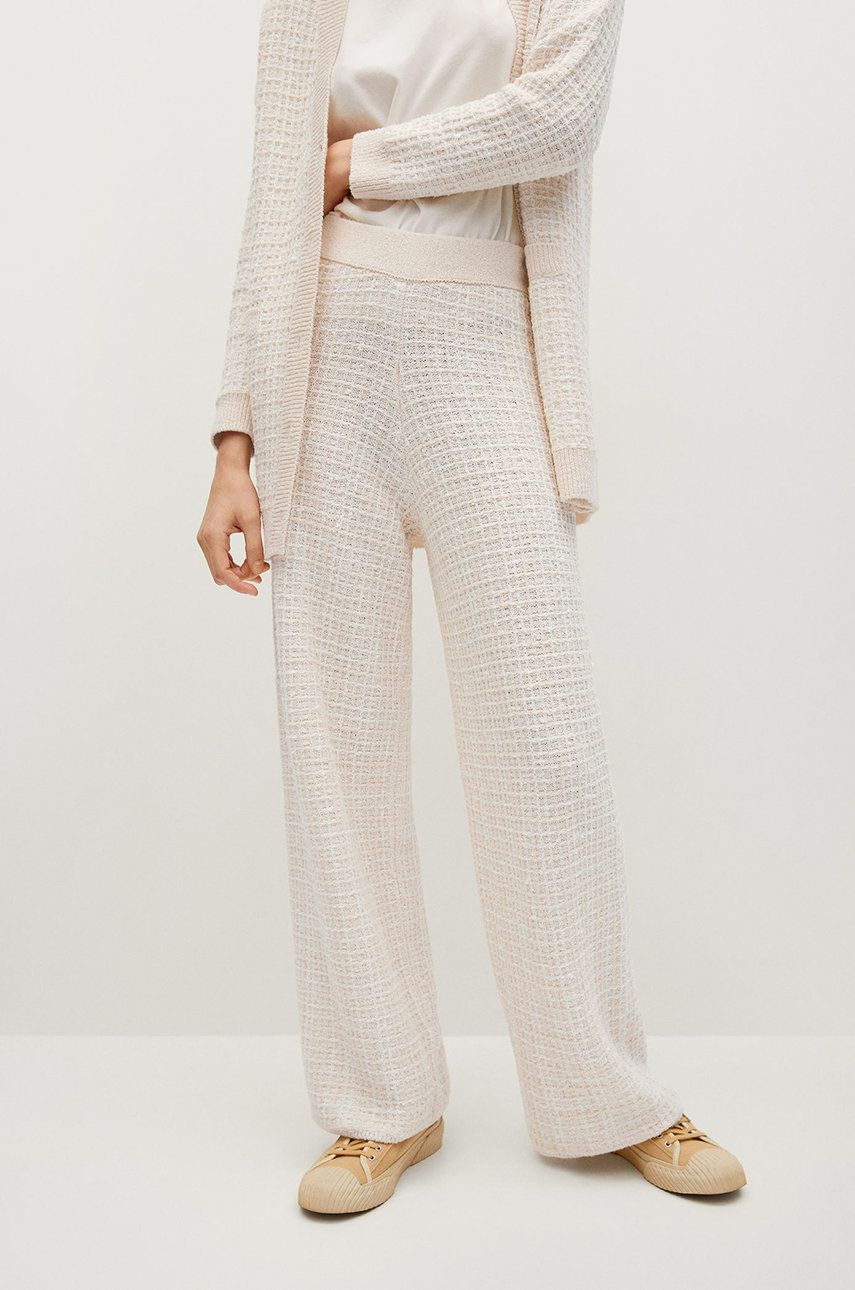 Mango - Pantaloni GATSBY imagine answear.ro 2021