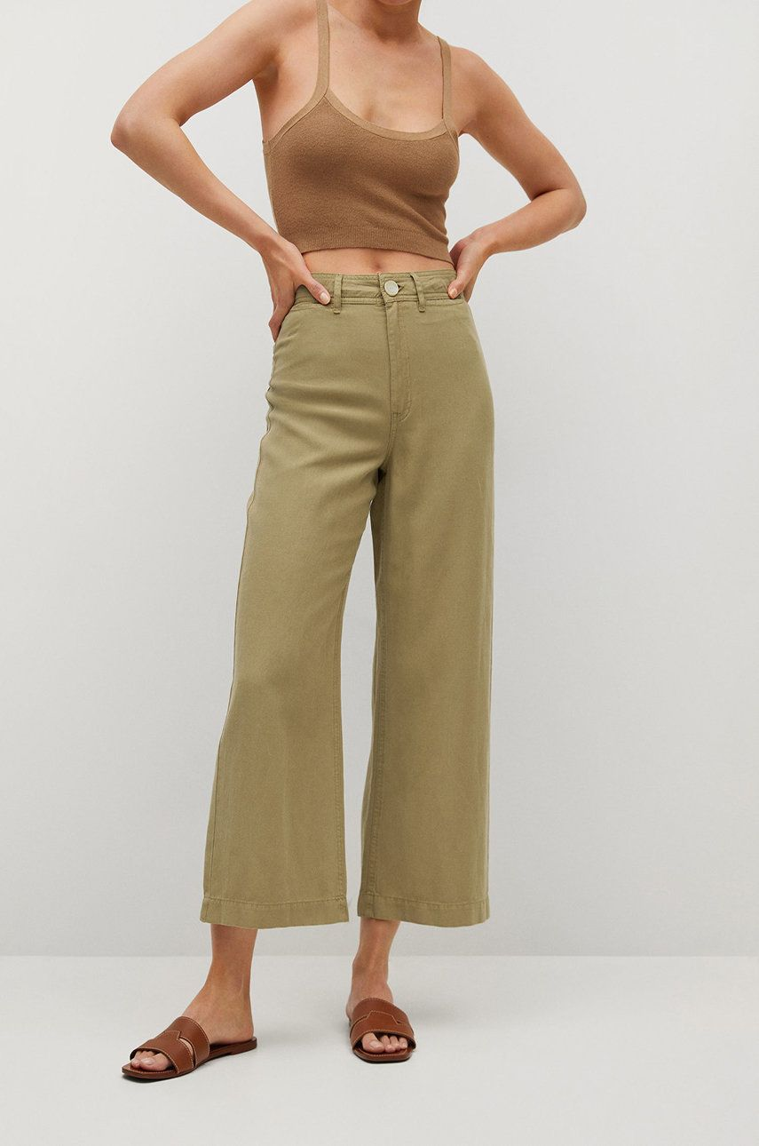 Mango - Pantaloni BLAU