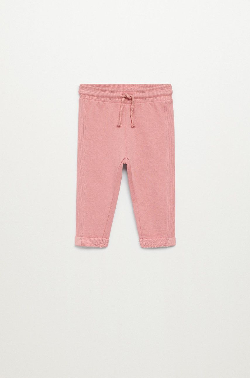 Mango Kids - Pantaloni copii MIRES7 imagine