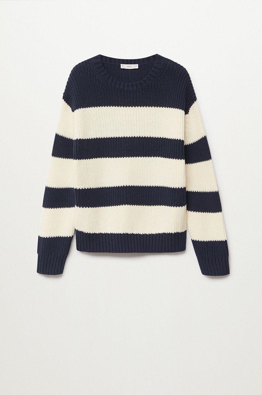 Mango Kids - Sweter dziecięcy Brick 116-164 cm