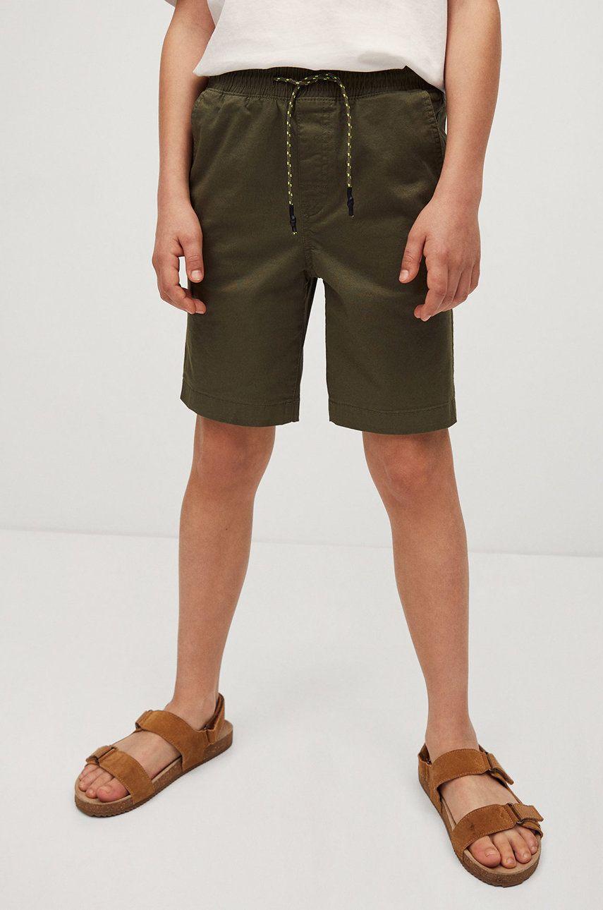 Mango Kids - Pantaloni scurti copii Roma 110-164 cm answear.ro
