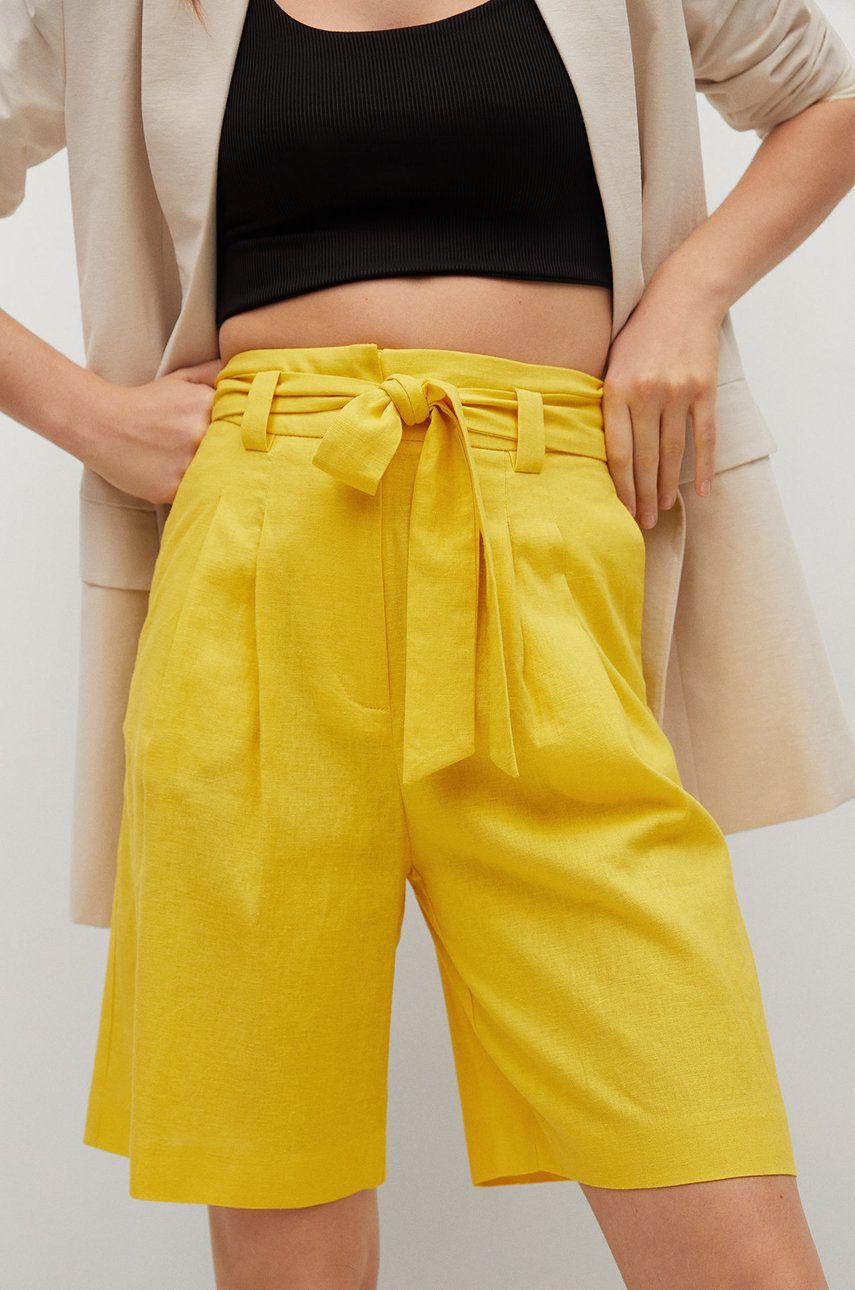 Mango - Pantaloni scurti LACI
