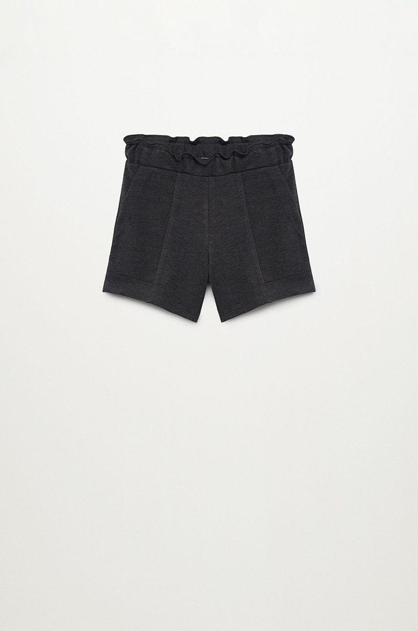 Mango Kids - Pantaloni scurti copii GAGA answear.ro