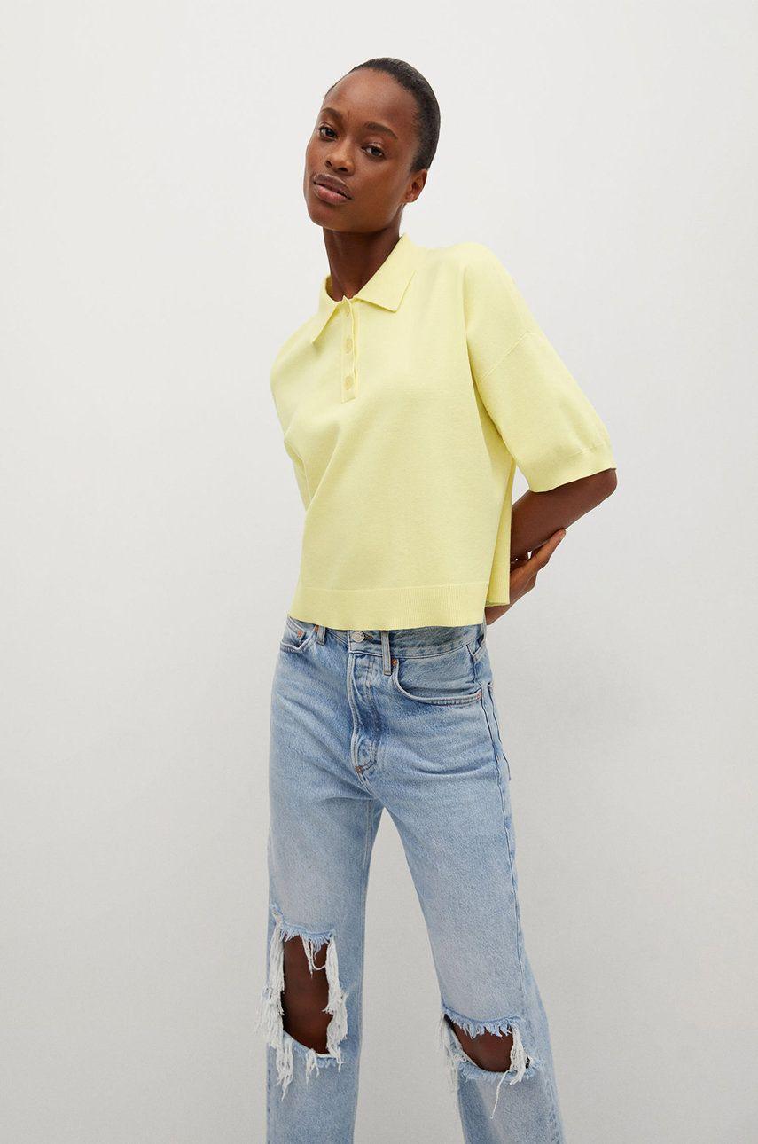 Mango - Tricou Polo NURIET