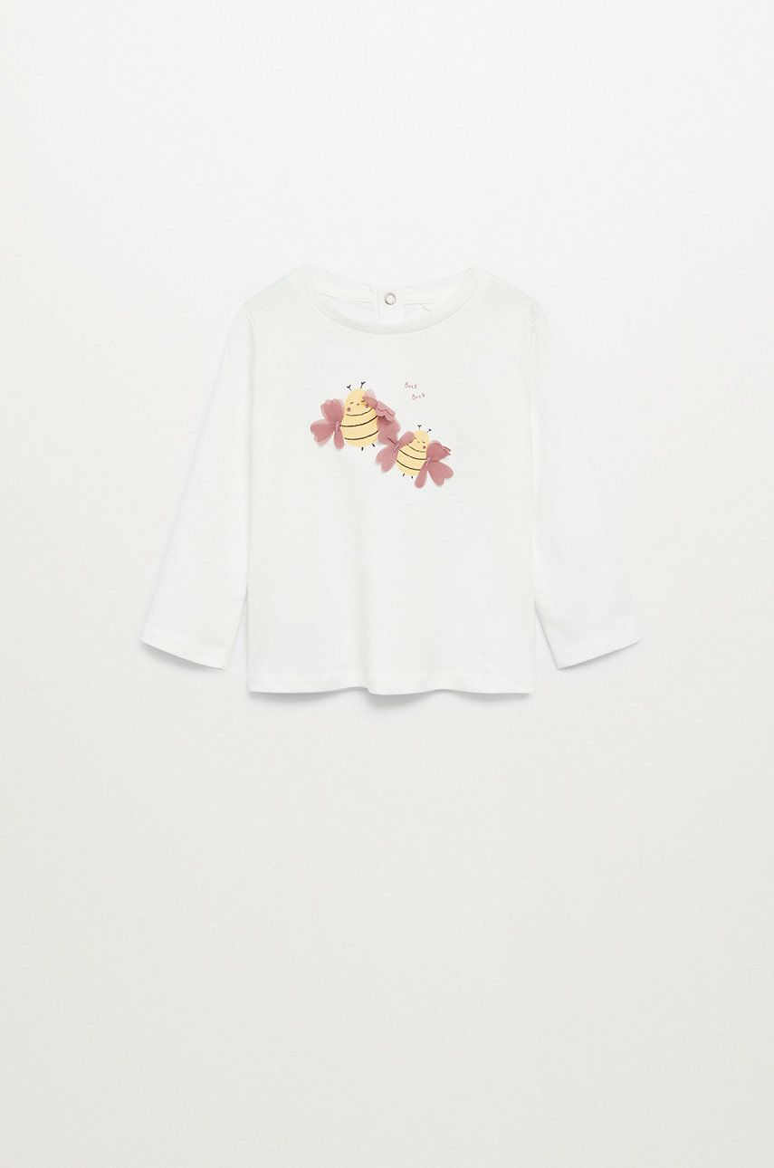 Mango Kids - Longsleeve copii MAYA imagine