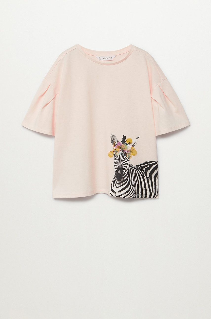 Mango Kids - Tricou copii ANIMALS