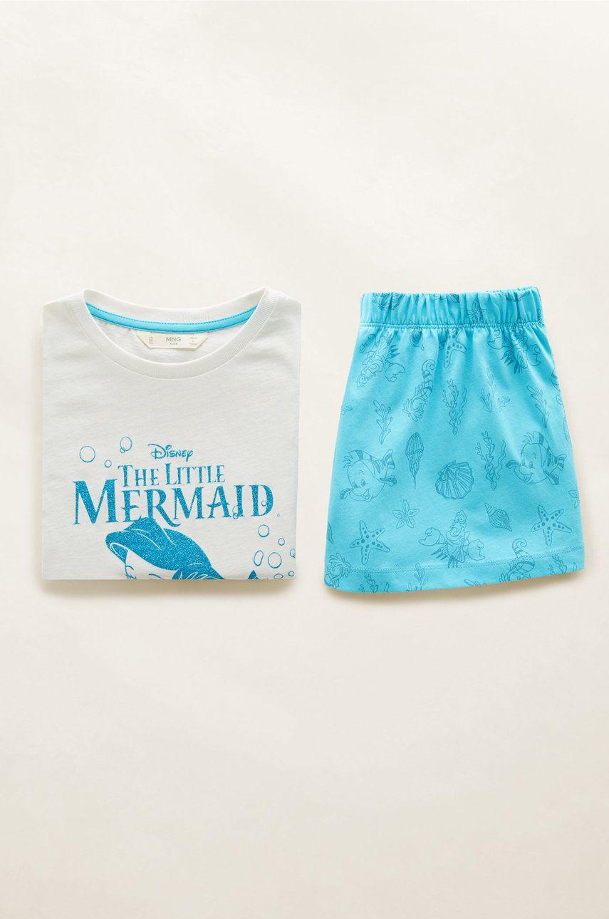 Mango Kids - Detské pyžamo Ariel 110-164 cm