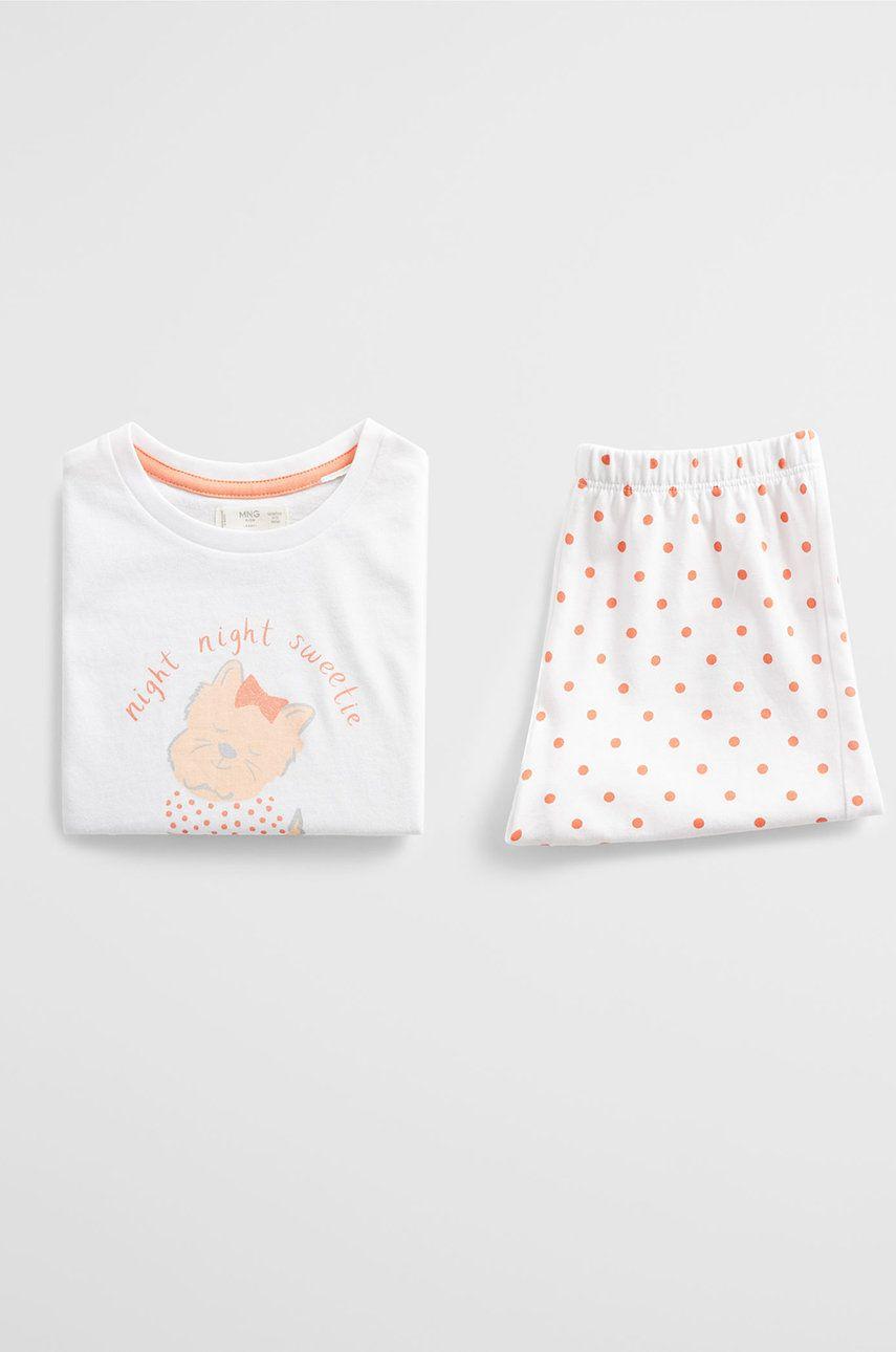 Mango Kids - Detské pyžamo Dogy 80-104 cm