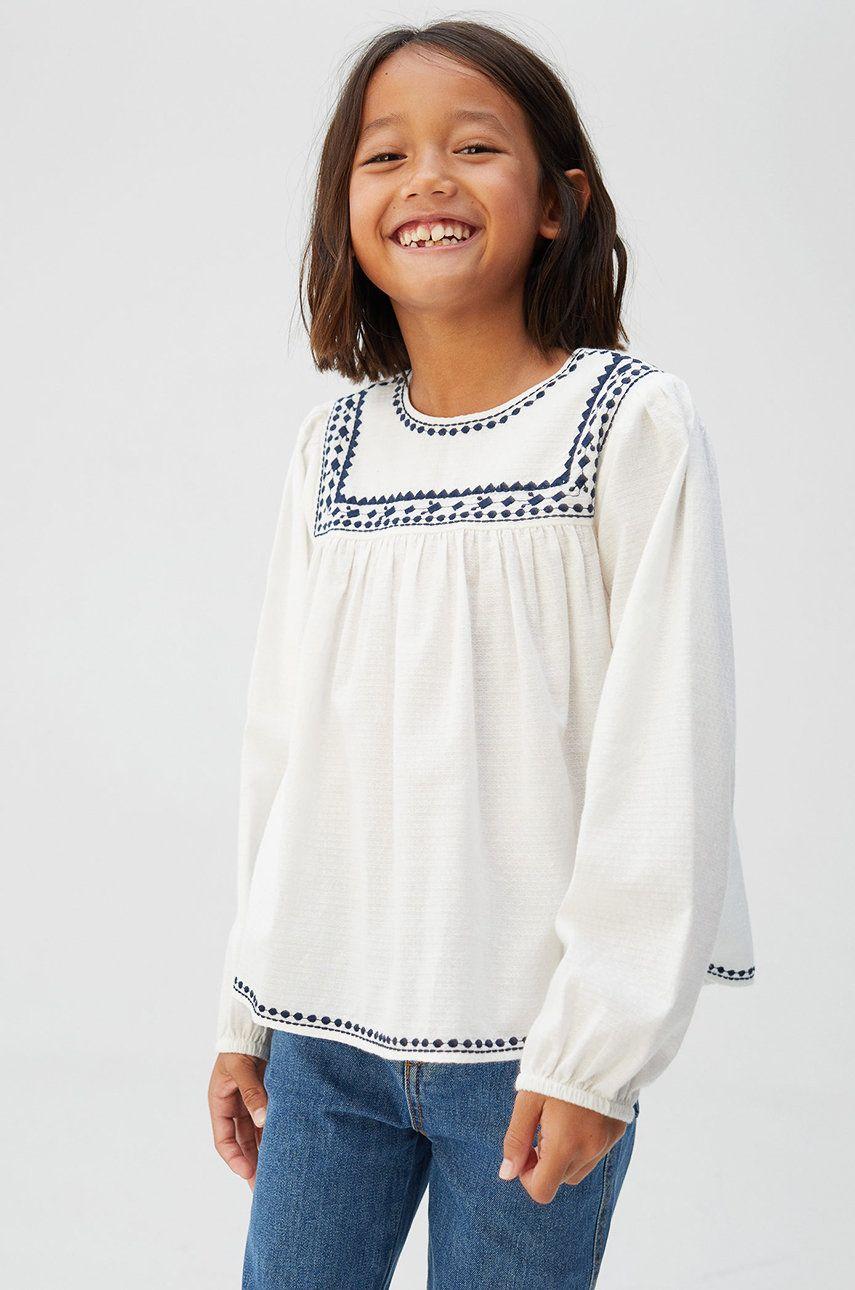 Mango Kids - Detská košeľa Mona 110-164 cm