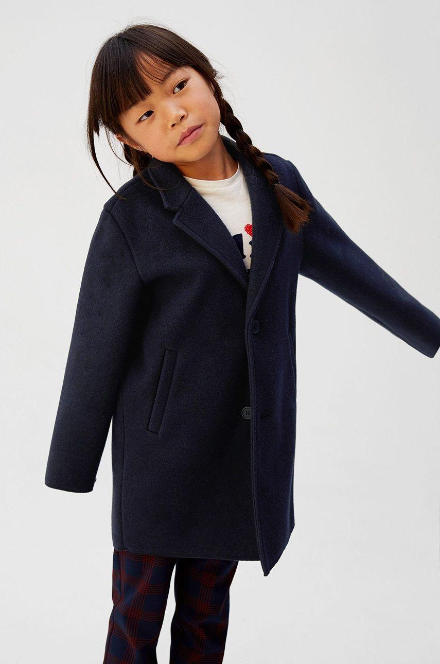 Mango Kids - Detský kabát Formal 110-164 cm