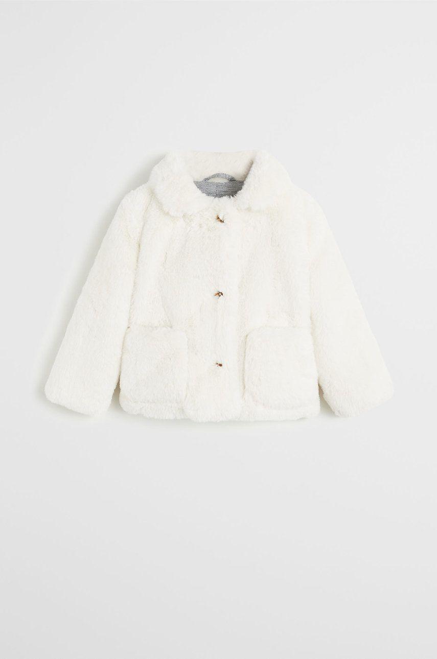 Mango Kids - Detský kabát Viola 80-104 cm