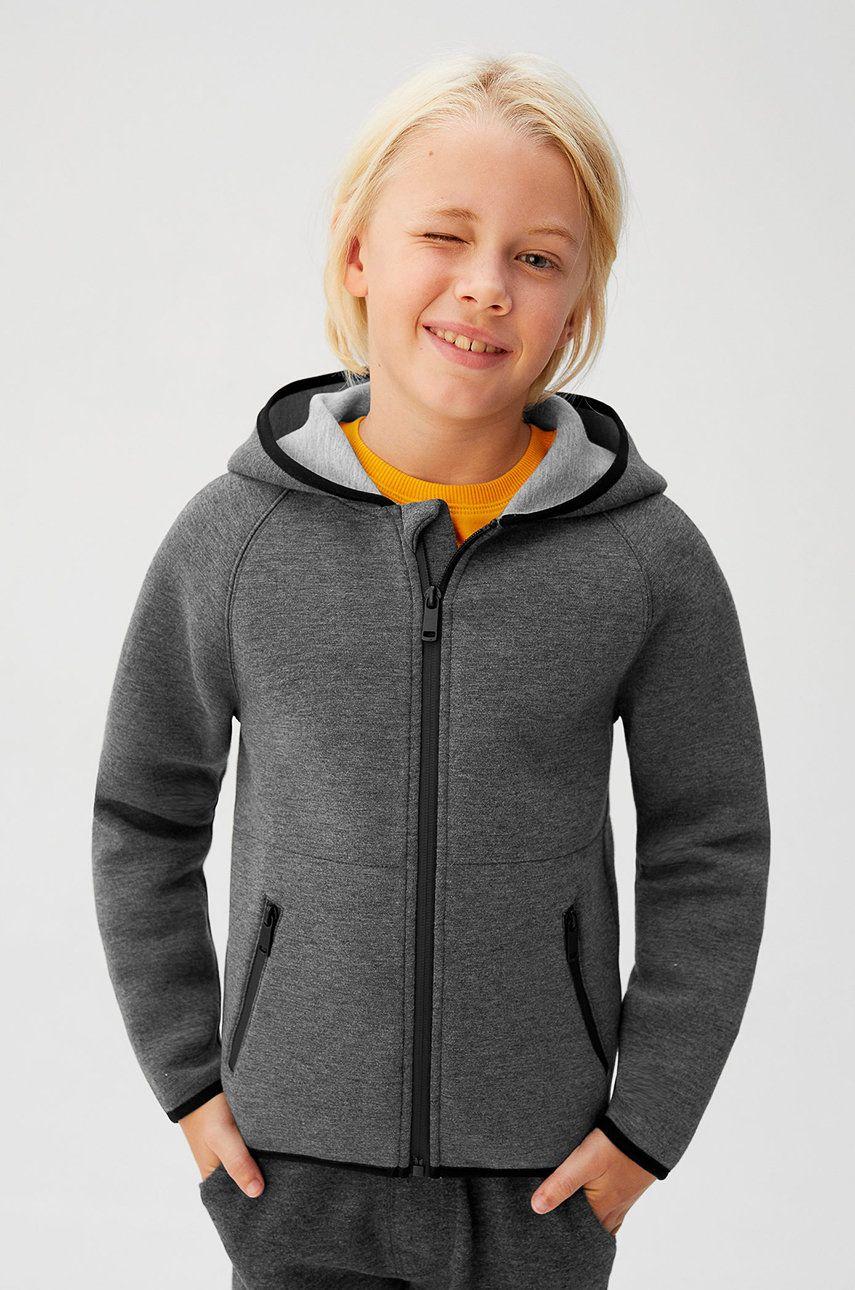 Mango Kids - Detská mikina Pablo 110-164 cm
