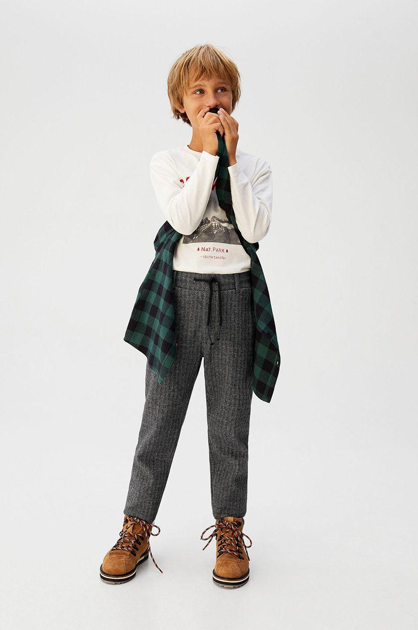 Mango Kids - Detské nohavice Ati 116-164 cm